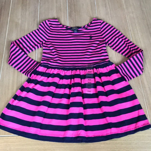 e579a3299e441 Polo by Ralph Lauren Dresses | Polo Ralph Lauren Pink Navy Striped ...